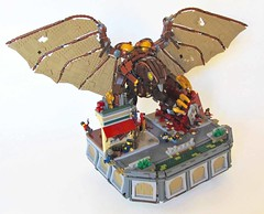 Bioshock Infinite Songbird (Imagine) Tags: lego columbia mecha songbird floatingcity bioshock foitsop imaginerigney bioshockinfinite bioshocksongbird bioshockinfinitecolumbia