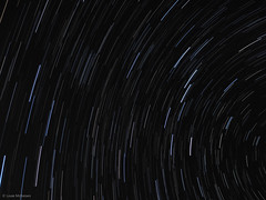 Startrails (Louie McKeown) Tags: longexposure stars pointandshoot startrails