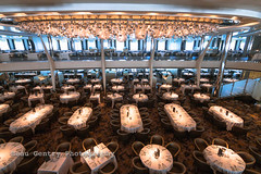 Celebrity Reflection-4.jpg (Beau Gentry) Tags: cruise italy canon mediterranean ship tokina1116mm opusdiningroom celebrityreflection