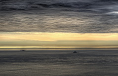 Les Casquetes, from Alderney (neilalderney123) Tags: sunset seascape landscape europe overcast alderney channelislands