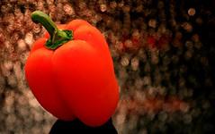 Orange Pepper before Dinner (Cindy's Here) Tags: orange macro canon pepper veggies eatyourveggies orangepepper