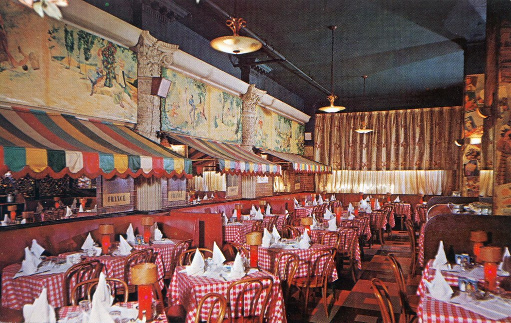 la bourgogne restaurant francais new york ny edge and corner wear tags new - Linoleum Restaurant Interior