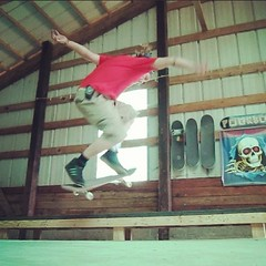 "Backside 180 ollies up onto the new grind box. This old guy can still pull them off. Have I mentioned I love skateboarding lately? • <a style=""font-size:0.8em;"" href=""http://www.flickr.com/photos/99295536@N00/9223943345/"" target=""_blank"">View on Flickr</a>"