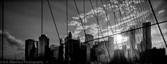 NYC downtown Gegenlicht (Daniel Hard) Tags: camera newyorkcity usa newyork lens other year ngc streetphotography places brooklynbridge crepuscular leicam 2013 062013 21f34superelmar