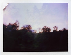 (jenkorff) Tags: sunset film polaroid bokeh double newport scanned landcamera fp100