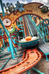 Primeval Whirl (Marc Perrella) Tags: orlando ride ak roller fl coaster animalkingdom attraction whirl primeval