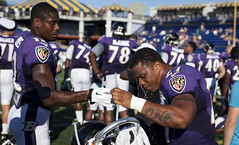 Ravens Practice in Annapolis (a digital cure) Tags: jones football md ray rice 5 nfl navy maryland joe baltimore practice annapolis superbowl academy naval 27 champions ravens baltimoreravens jacoby rayrice flacco joeflacco jacobyjones