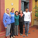 One of the spanish classes with their teacher - Bolivia and the Galapagos Islands cross-cultural