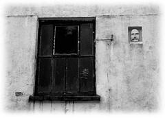 Mylroie Masque (dangerousdavecarper) Tags: uk window stone carving mann isle manx masque laxey mylroie