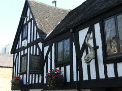 The oldest public house in Derby (Mrs Fogey) Tags: building inn derbyshire derby pubsign 16thcentury publichouse 1530