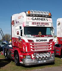 M & N Garners Scania R Series Truck X111 MNG at TruckFest Peterborough 2013 (davidseall) Tags: uk truck n large goods m lorry r vehicle series heavy peterborough cambridgeshire garner scania mng truckfest hgv lgv garners 2013 x111 x111mng