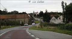 Samer evening France passenger view from car 130813 (29)