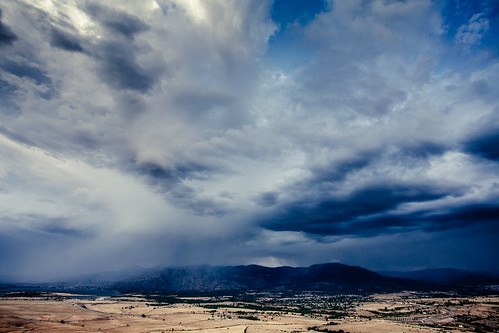 Storm covering Soto del Real
