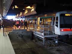 Transperth Train at Perth Station (artisanat) Tags: leica all 14 traintracks olympus panasonic summilux 25mm lumiix