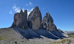 Le Tre Cime di Lavaredo (ladigue_99) Tags: italy alps italia hiking hike alpen alpi dolomites dolomiti veneto cadore misurina dreizinnen dolomitidisesto ladigue99 provinciadibelluno letrecimedilavaredo tréthime