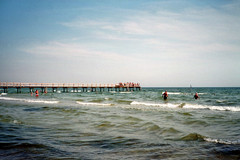(Monica Forss) Tags: sea summer film beach analog 35mm sweden falsterbo fujisuperia200 minoltaprod20s