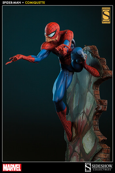 Sideshow【蜘蛛人】知名畫家 J. Scott Campbell 版本 第三彈 Spider-Man