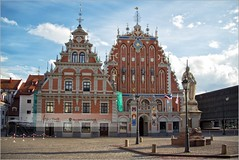 The House of Blackheads | Riga, Latvia (Stefan Cioata) Tags: travel vacation holiday tourism beautiful photography marketing europe view image sale exploring details great joy visit explore most sight lovely top10 iconic available advertise touristical flickrandroidapp:filter=none