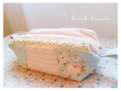 Porta-lpis da Vernica - romantique IV (AnnCrafts Artesanato) Tags: vintage fabric tilda pencilcase portalpis necessaires vintagepurse