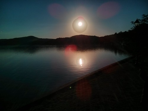 Sunset at Lake Massawipi, North Hatley, Quebec