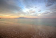 Maui Morning (RH Miller) Tags: ocean usa water clouds sunrise landscape hawaii sand maui sailboats reedmiller rhmiller