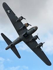 Boeing B-17G Flying Fortress (chaz jackson) Tags: flying aircraft b17 duxford bomber fortress sallyb boeingb17gflyingfortress