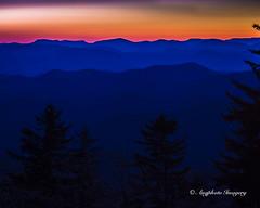 Blue Ridge Sunset (augphoto) Tags: sunset mountains nature us unitedstates outdoor scenic northcarolina canton blueridgeparkway augphotoimagery