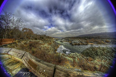 Mather Gorge Fisheye