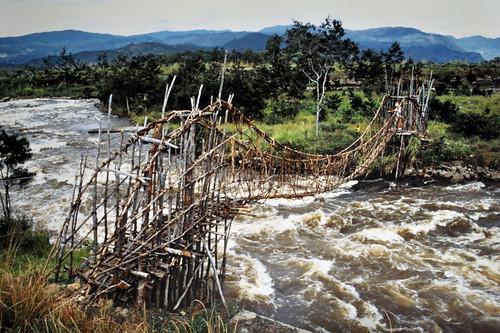 Western New Guinea - Baliem Valley - Rattan Bridge - 1