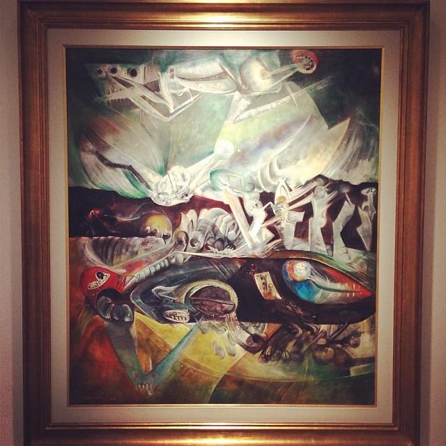 """Sin Título 1964 • """"El Pasado Presente"""" de Gerardo Chávez #art #arte #arteenlima #artinlima #artista #artist"""