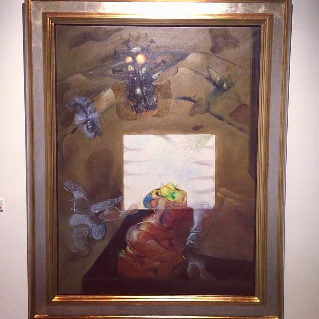 """""""La Mosca"""" 1968 • """"El Pasado Presente"""" de Gerardo Chávez #art #arte #arteenlima #artinlima #artista #artist"""