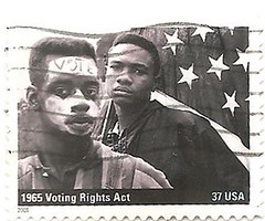 USA 1965 Voting Rights Act stamp (sftrajan) Tags: usa unitedstates stamps stamp timbre civilrights postagestamp 1965 philately americanhistory sello ushistory briefmarke  votingrightsact