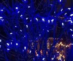 Blue Ice (Bob (sideshow015)) Tags: christmas ice nightshot noel
