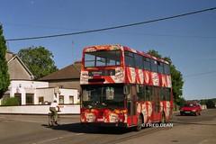 Bus Eireann KD184 (184JZL). (Fred Dean Jnr) Tags: cork doubledecker bombardier august1998 heinztomatoketchup aoa buseireann alloverad kd184 buseireannroute206 184jzl southdouglasroadcork