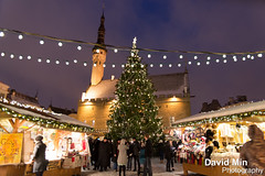 Tallinn, Estonia - Happy New Year ! (GlobeTrotter 2000) Tags: christmas new old eve travel winter snow cold tree tourism