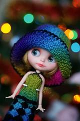 Blythe rainbow dress