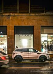 saldi (august_brain) Tags: street city urban rain 4x4 rover sales range luxury classy saldi evoque
