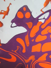 Orange-Loving Ogre: Half of the time he is sober. All the time he's proud of his odor. (yet jeff) Tags: trip carnival pierced orange abstract art halloween animal monster tangerine illustration painting giant lava design weird crazy punk paint purple graphic bright bend circus character cartoon dream shapes surreal medieval misfit tongueout fantasy freak animation beast weirdo animated nightmare mutant oranges wtf bent dots trippy psychedelic piercings creature magical liquid wetpaint ogre dotty clumsy brute odor whatthefuck shapeshift savage darkcarnival buffoon waft delusional orangespots circusfreak orangedots nosepierced purpleandorange stickingtoungueout zfthrimej orangelovingogre purpleyogurt potionsfromatoaster brighcolor