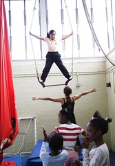 Bassline Circus Workshop (Bassline Circus) Tags: uk london kids circus performance aerial acrobatics teaching juggling liveshows acts workshops silks youthcenter basslinecircus