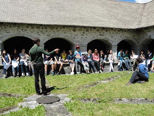 Soirée scolaires à la Chartreuse de Mélan © C. Messina - Fondation Facim (1)