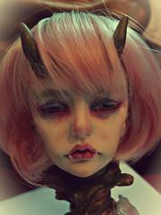 Fab wig Corpus (MademoiselleGrymms) Tags: face up ball doll 02 bjd freddy corpus abjd jointed dollzone