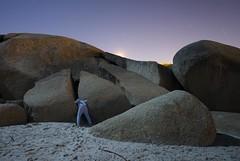 Up at the crack (Alex Bamford) Tags: rock capetown boulder crack clifton pyjamas campsbay pajama sleepwalking alexbamford wwwalexbamfordcom alexbamfordcom