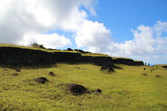 Orongo ceremonial village, Easter Island (sj.fisher) Tags: easter island chile orongo
