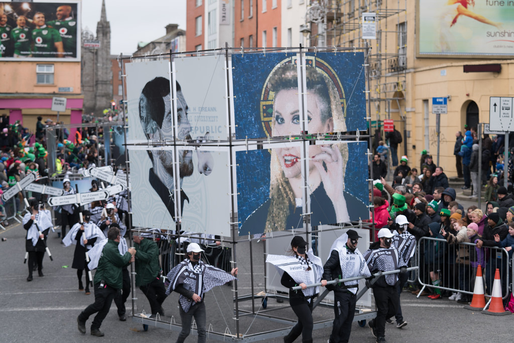 DUBLIN INSTITUTE OF TECHNOLOGY [PATRICKS DAY PARADE IN DUBLIN 2017]-126054