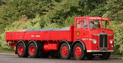 Leyland Octopus BRS Dropsid IMG_8459 (Frank Hilton.) Tags: classic truck lorry eight wheel maudsley aec atkinson albion leyalnd bristol austin outside heavy haulage crane 8 axle