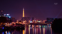 Paris (XILAG Pictures) Tags: 85mm averaging boulognebillancourt dri dynamicrangeincrease eiffel eiffeltower helios helios402 idf iledefrance issylesmoulineaux laseine m42 paris photoshop stacking toureiffel lightroom 70d night