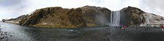 Skogarfoss - South Iceland (Simon Caunt) Tags: unlimitedphotos iphone7plus largeformat widescreen wideview panoramic panorama rangarvallasysla skogar iceland waterfall skogarfoss