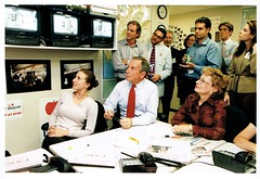 Bloomberg 2001 Primary Election Returns (arickwierson) Tags: arick wierson mike bloomberg campaign mayor new york city 2001 election 911 marjorie tiven phil kelly courtney fine ashe reardon emma seth unger susan calzone headquarters returns war room for