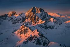 PWX_2788-3 (wpenkalla) Tags: berge winter schnee gipfel österreich tirol rot felsen landschaft panorama natur nikon d810 sonnenaufgang mountain