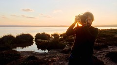 (alejuss) Tags: naranja marrón torrevieja alicante canon foto atardecer laguna fotógrafo